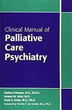 Clinical Manual of Palliative Care…