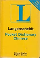 Langenscheidt's Pocket Dictionary…