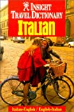 Langenscheidt Staff: Insight Travel Dictionary Italian: Italian-English/English-Italian