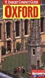 Halliday, Tony: Oxford (Insight Compact Guide Oxford)