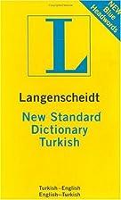 New Standard Turkish Index (Langenscheidt…