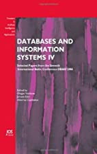 Databases and Information Systems IV:…