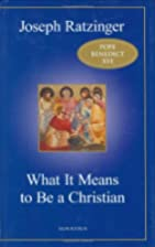 What It Means to Be a Christian: Three…