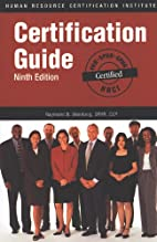 HRCI Certification Guide Ninth Edition by…
