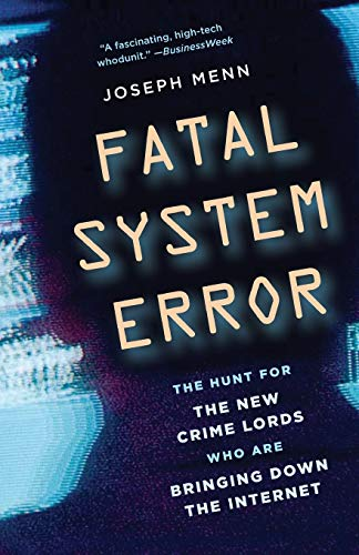Cover of Fatal System Error by Joseph Menn