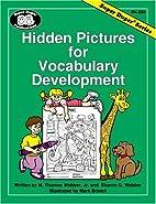 Hidden Pictures for Vocabulary Development…
