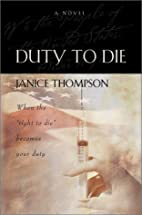 Duty to Die: When the Right to Die Becomes…