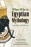 Mercatante, Anthony S.: Who&#39;s Who in Egyptian Mythology