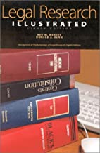 Legal Research Illustrated, 8th Ed. by Roy…