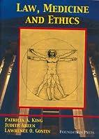 Law, Medicine and Ethics (University…