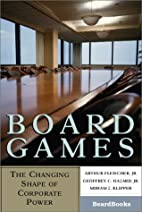 Board Games: The Changing Shape of Corporate…