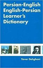 Persian-English English-Persian Learner's…