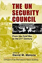 The UN Security Council: From the Cold War…