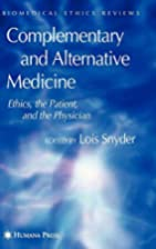 Complementary and Alternative Medicine:…