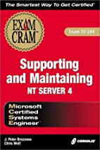 MCSE Supporting and Maintaining NT Server 4…