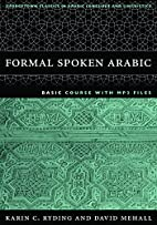 FORMAL SPOKEN ARABIC: Basic Course with Mp3…
