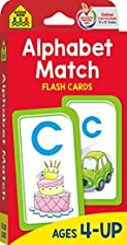 Alphabet Match by School Zone Staff