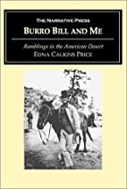 Burro Bill and me by Edna Calkins Price