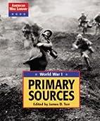 Primary sources by David Haugen