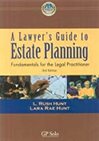 Lawyer's Guide to Estate Planning, 3rd…