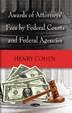 Awards of Attorneys Fees by Federal Courts,…