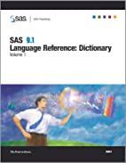 SAS 9.1 Language Reference: Dictionary,…