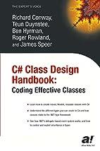 C# Class Design Handbook: Coding Effective…
