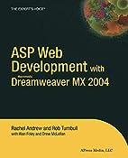 ASP Web Development with Macromedia…