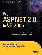 Pro ASP.NET 2.0 in VB 2005 (Expert's Voice…