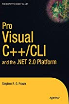 Pro Visual C++/CLI and the .NET 2.0 Platform…