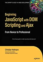 Beginning JavaScript with DOM Scripting and…