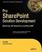 Pro SharePoint Solution Development:…