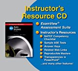 Chris Johanson: Auto Brakes Instructor's Resource Cd w/ Examview