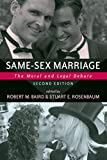 Baird, Robert M.: Same-sex Marriage: The Moral And Legal Debate