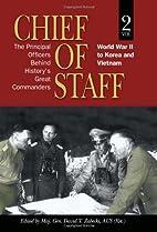Chief of Staff, Vol. 2: The Principal…