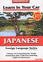Learn in Your Car Japanese, Level 1 by Henry…
