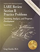LARE Review Section B Practice Problems:…