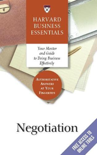 negotiation-harvard-business-essentials-series