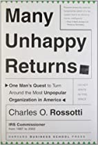 Many Unhappy Returns: One Man's Quest…