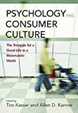 Kasser, Tim: Psychology and Consumer Culture: The Struggle for a Good Life in a Materialistic World