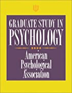 Graduate Study in Psychology 2004 by…