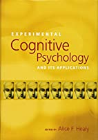 Experimental Cognitive Psychology And Its…
