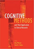 Cognitive Methods And Their Applications To…