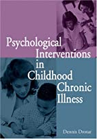 Psychological Interventions in Childhood…