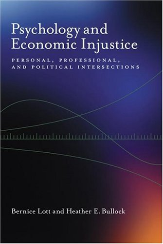 psychology-and-economic-injustice-personal-professional-and-political-intersections-psychology-of-women