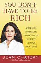 You Don't Have to Be Rich: Comfort,…