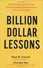 Billion-Dollar Lessons: What You Can Learn…