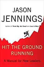 Hit the Ground Running: A Manual for New…