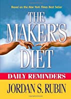 The Maker's diet : daily reminders by…