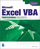 Microsoft Excel VBA Professional Projects by…